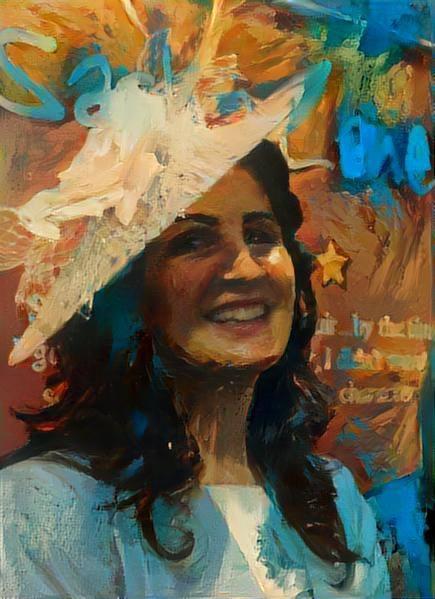 Allison Roberts painting